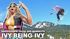 Ivy's Road Trip Turns Toward The Mountains For Some Late-Season Shredding | Ivy Being Ivy Ep3
