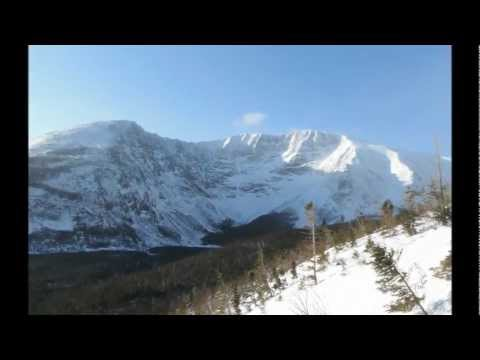 Winter Katahdin Traverse - Knife Edge