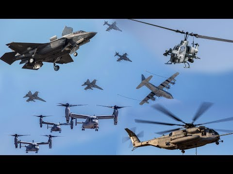 Combat & Support Aircrafts of the U.S. Marine Corps (2018)