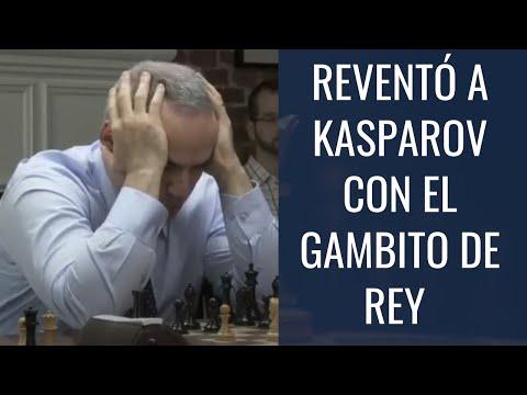 REVENTÓ a Kasparov con el gambito de rey en solo 15 jugadas