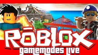 ROBLOX GAMEMODES LIVE #2 - PHANTOM FORCES,MURDER MYSTERY,PROJECT POKEMON AND MORE