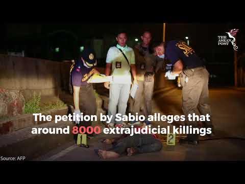 Duterte's drug war under investigation by the ICC