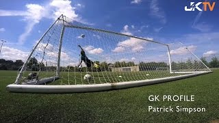 Goalkeeper Profile Patrick Simpson