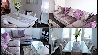 AFFORDABLE LIVING ROOM & DINING ROOM DECOR TOUR