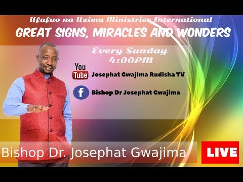 LIVE: JOIN BISHOP DR. JOSEPHAT GWAJIMA LIVE FROM DAR ES SALAAM 22 OCTOBER 2017