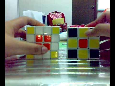 วิธีการเล่นรูบิค 4*4 Part 1