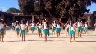 Logo te pate/Otea - Uchs Polynesian Dance Team