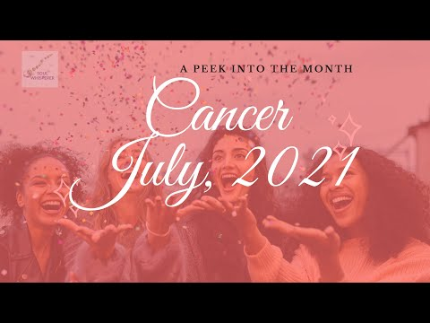 ♋ CANCER ♋: Learn To Say No - July