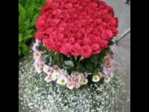 Los arreglos de flores mas lindos del mundo - YouTube - Arreglos Florales Bonitos