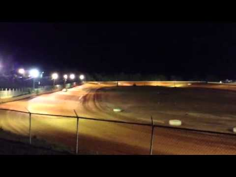 Ryan Howard, first race back at Cleveland County Speedway