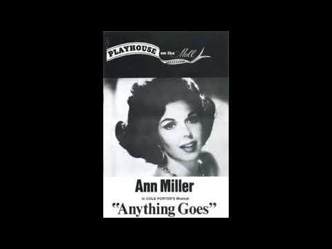 born April 12, 1923 Ann Miller, Anything Goes