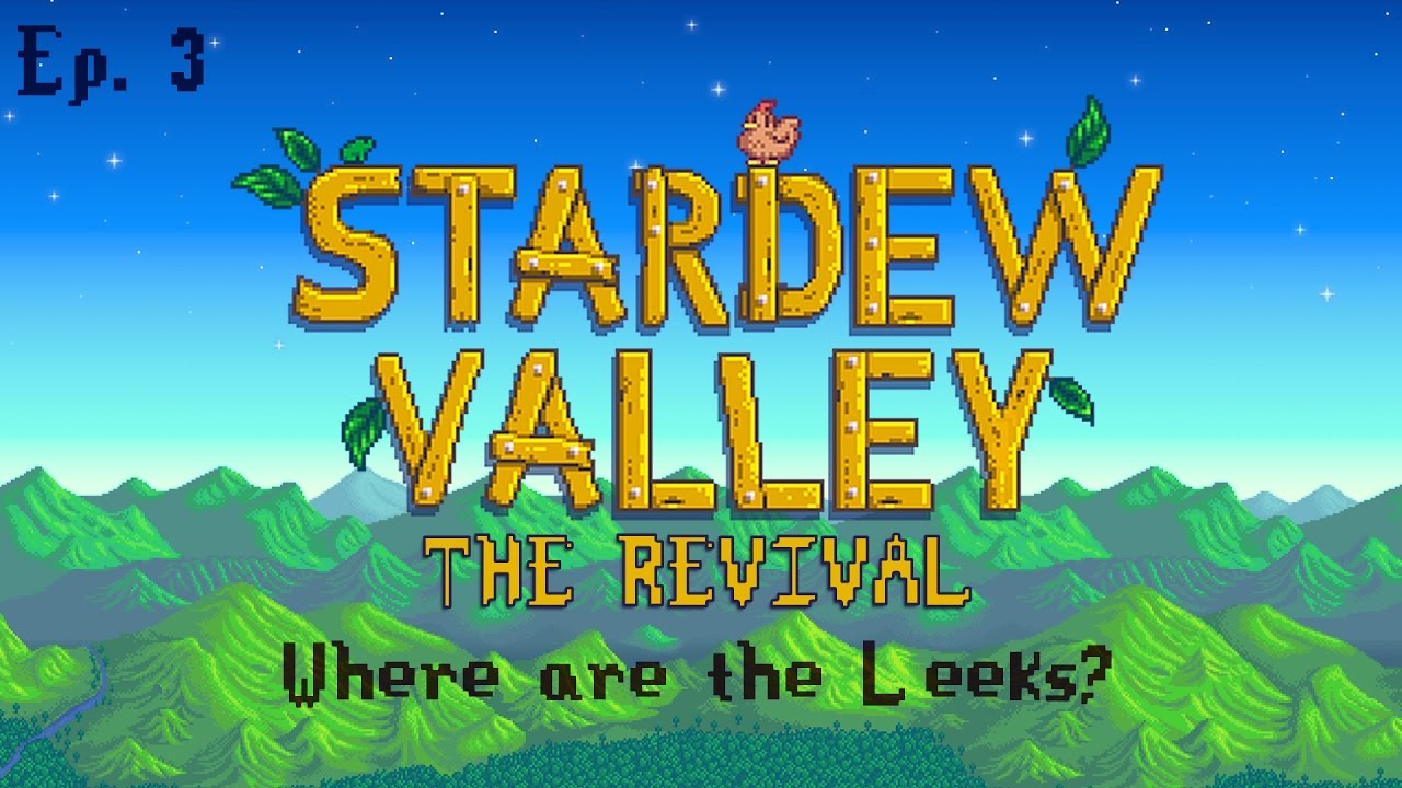 how to find leeks in stardew valley