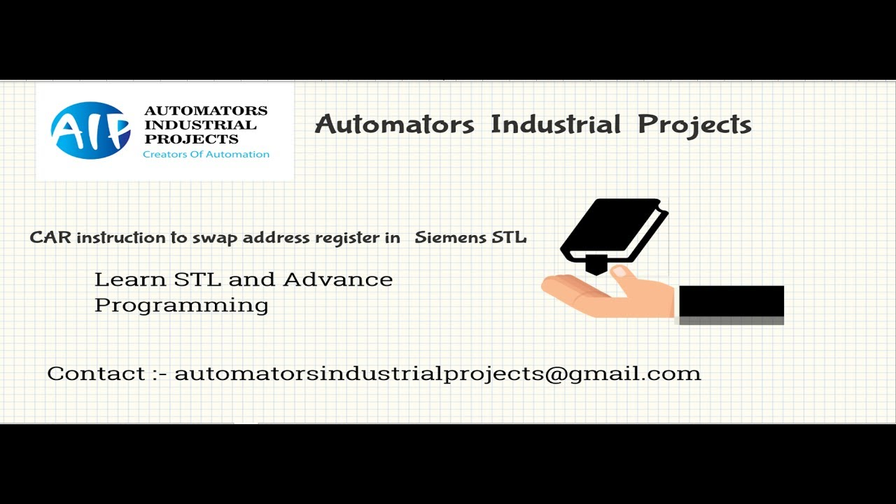Siemens S7 Swap address registers using CAR instruction in STL