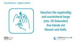 Virusinfektionen: Hygiene schützt!