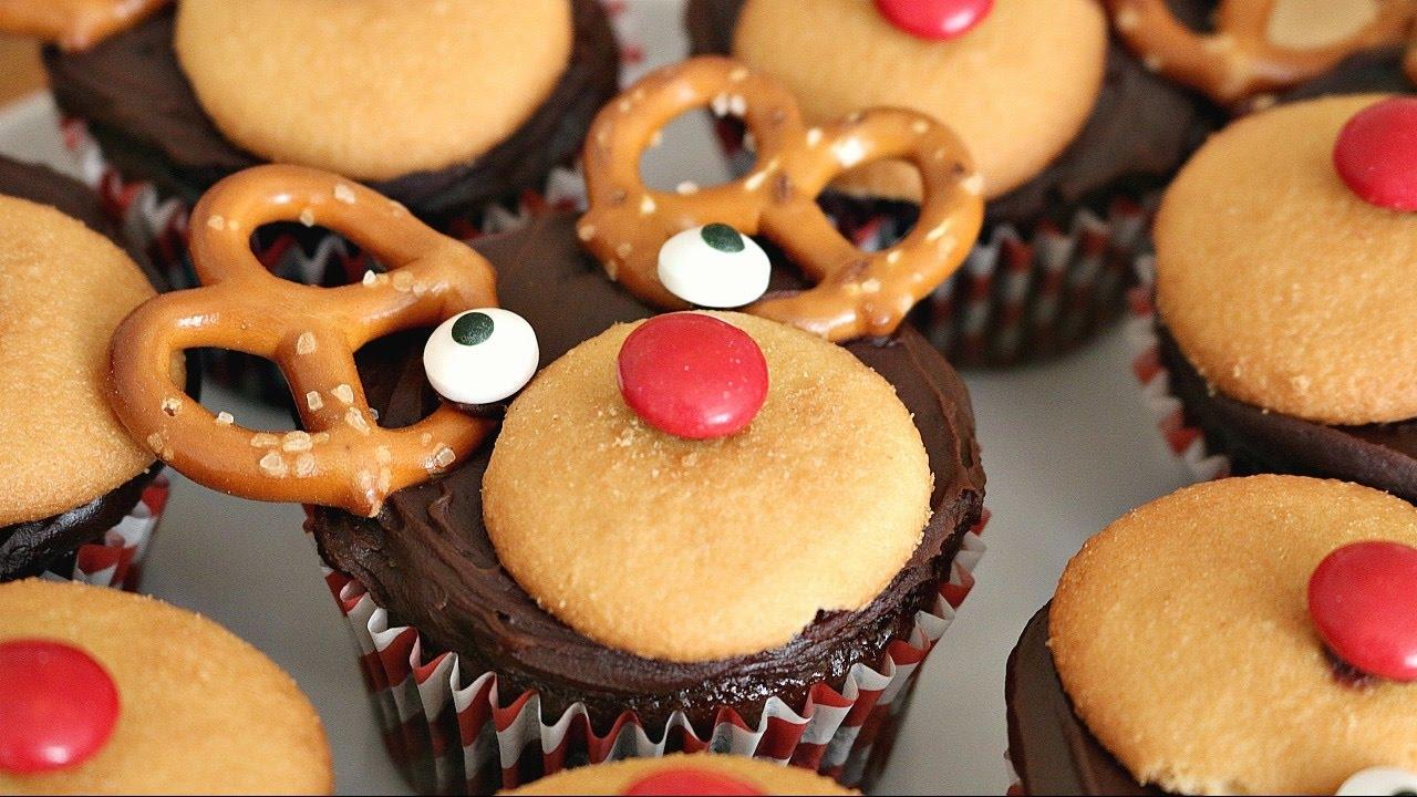 Reindeer Cupcakes 12 Days Of Xmas Baking Sweetco0kiepie