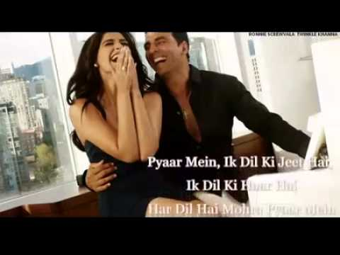 Pyaar Mein With Lyrics - Thank You  Full Song Neeraj   Javed Ali