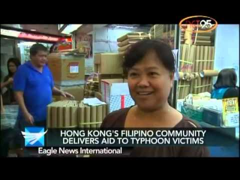 Hong Kong's Pinoy community delivers aid to typhoon survivors