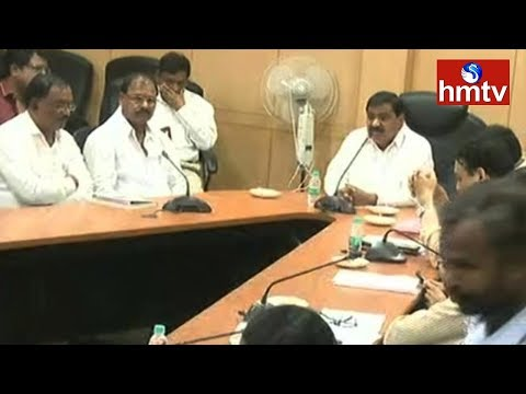 TSRTC Union Meet with Minister Mahender Reddy | RTC Strike Call | hmtv