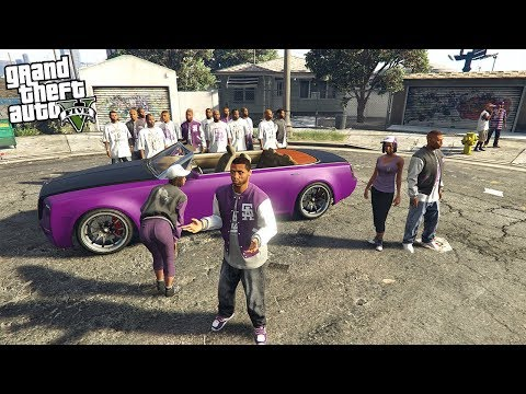 JOINING A GANG - TAKING OVER EVERYONE!! (GTA 5 Mods)