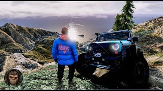 ► GTA 6 Graphics | Off Road - Jeep Wrangler| 2018 REDUX ✪ M.V.G.A. | Realistic Graphic MOD 60 FPS