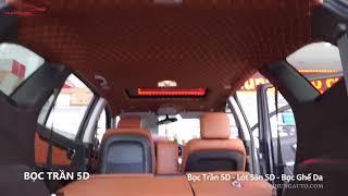 Bọc Trần 5D - Bọc ghế - Lót Sàn 5D xe hơi - ô tô
