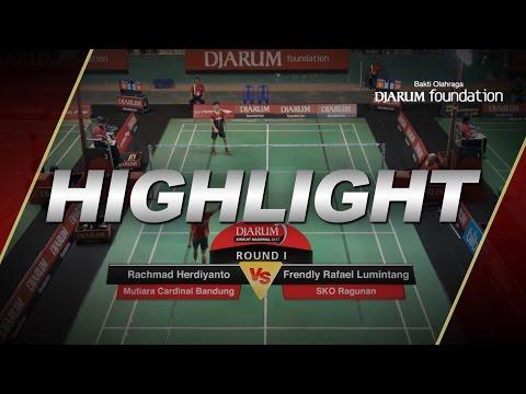 Rachmad Herdiyanto (Mutiara Cardinal Bandung) VS Frendly Rafael Lumintang (SKO Ragunan)