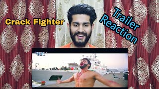 Crack Fighter क्रेक फाईटर Trailer Reaction Pawan Singh Sanchita Nidhi Jha Ishan Sethi