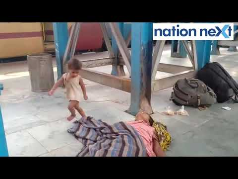 Amid lockdown, toddler tries to wake his dead mother at Muzaffarpur Railway Station