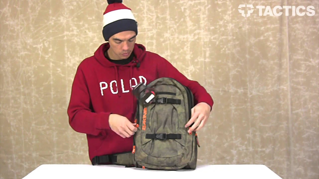 Dakine 2013 Mission Photo Backpack Review - Tactics.com - YouTube