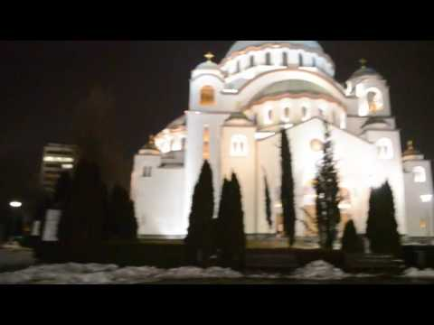 Belgrade's Massive Orthodox Church.. Sveti Sava Hram