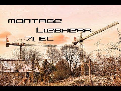 Montage Liebherr 71 EC ( Komplett)