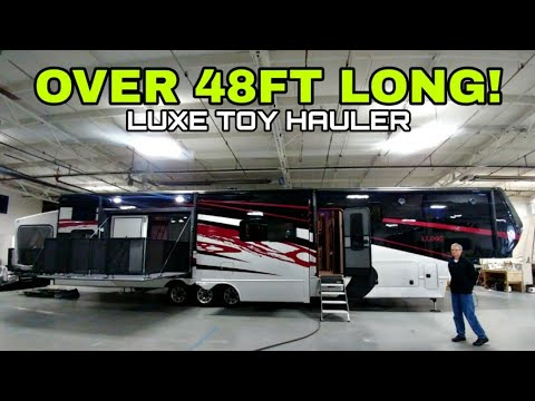 largest-i've-reviewed!-48.5ft-long-luxe-toy-hauler!-check-this-out!