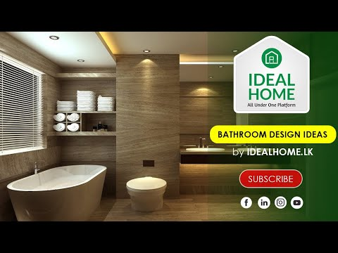 Bathroom Design Ideas | MODERN BATHROOM DESIGN | Bathroom Interior Design Ideas by IdealHome.lk