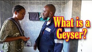 Sbongile noMdu - What is a geyser? (LEON GUMEDE)