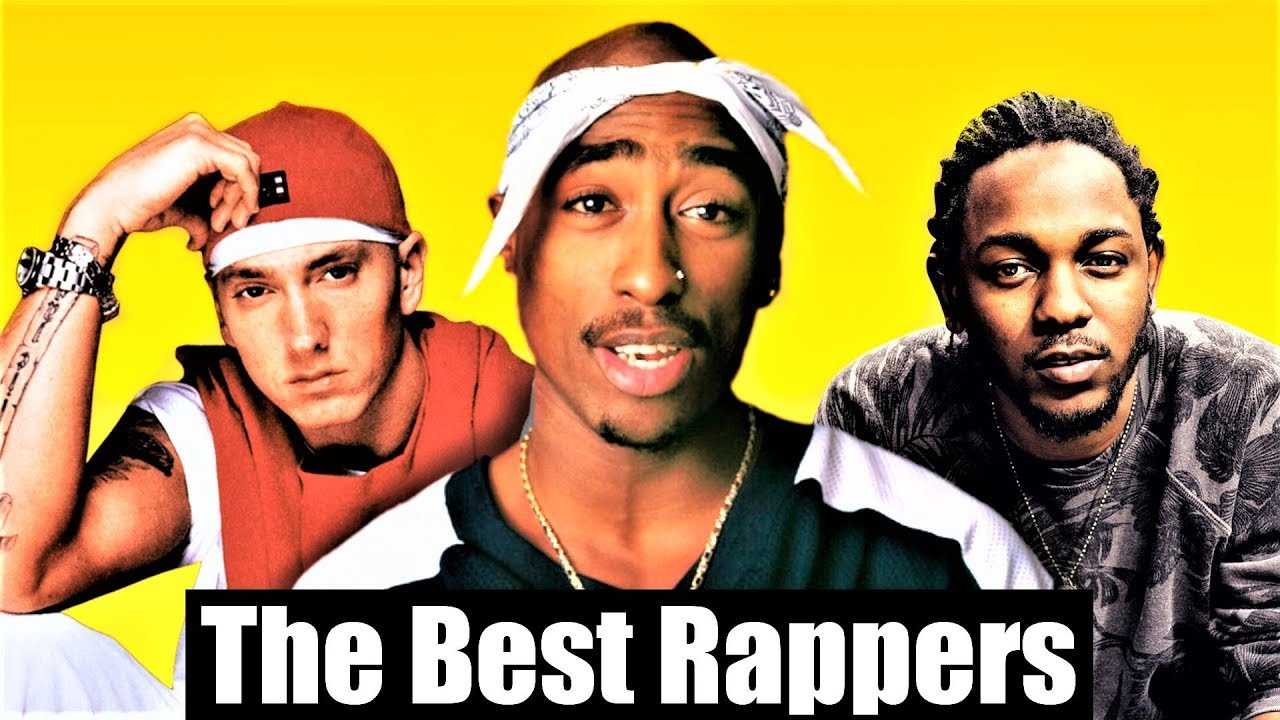 Top 200 - The Best Rappers Of All Time (2018)