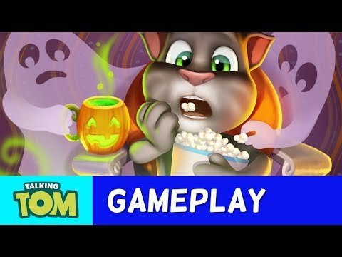 Halloween Magic in My Talking Tom (New Update)
