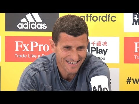 Javier Gracia Full Pre-Match Press Conference - Watford v Manchester United - Premier League
