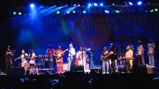 seun kuti egypt 80 at festival international 2012 lafayette louisiana usa