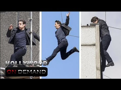 Tom Cruise Breaks His 2 Bones While Perfomring A Stunt For MI6