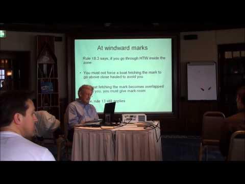 Rule 18 Seminar with Tom Sheppard