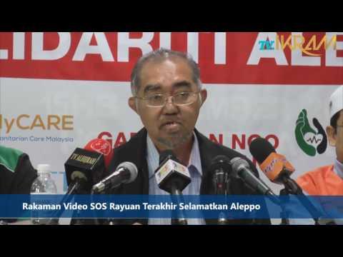 Rakaman Video SOS Rayuan Terakhir Selamatkan Aleppo