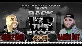 KLBL - Rap Battle - Aaron Out vs Uncle Nate (B2TB)