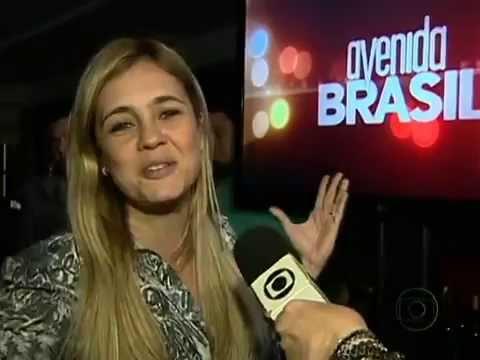 Brasil Para No último Capítulo De Avenida Brasil - Jornal Nacional