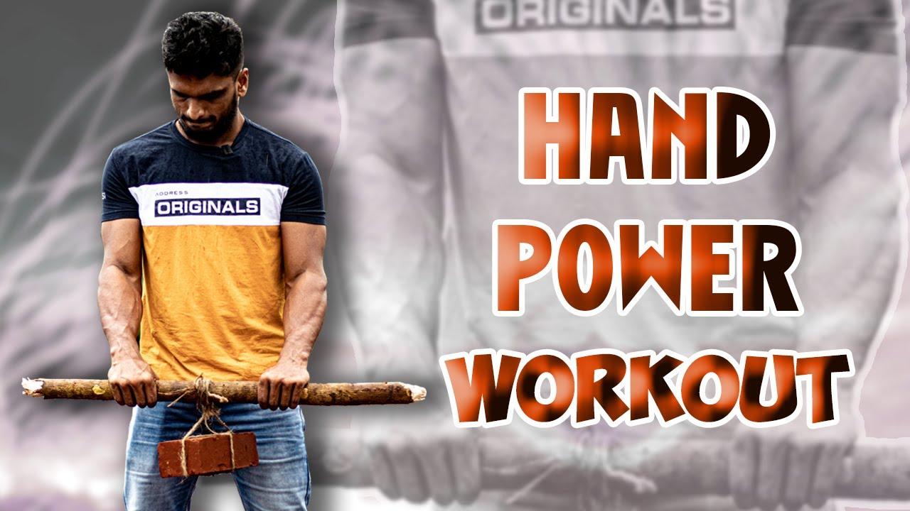 Hand Power Workout 3 | Karate Fitness Tutorial