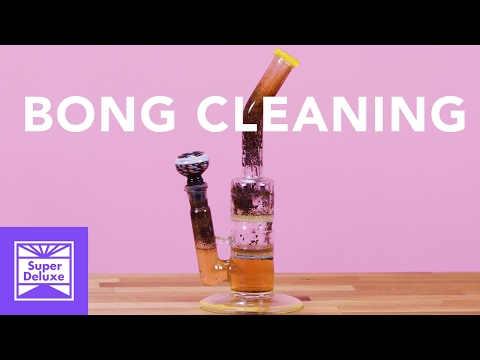 D.I.Y. Bong Cleaning | Tatered