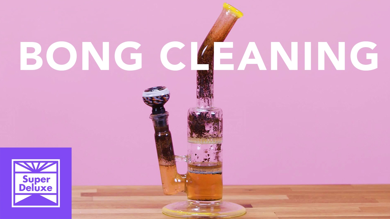 Diy Bong Cleaning Youtube
