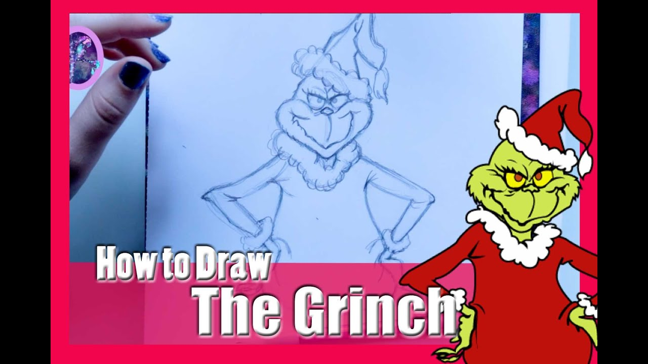 How The Grinch Stole Christmas Characters Cartoon.How To Draw The Grinch From Dr Suess How The Grinch Stole Christmas Dramaticparrot