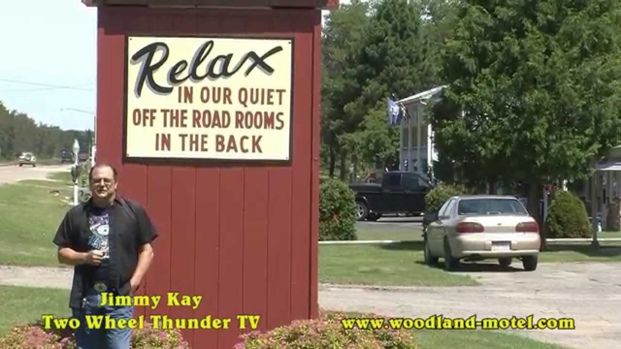 Woodland motor lodge n michigan with two wheel thunder tv for Woodland motor lodge grayling mi