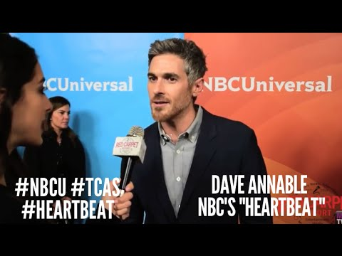 Dave Annable Heartbeat at NBCUniversal's Winter 2016 Press TCA Tour NBCU TCAs