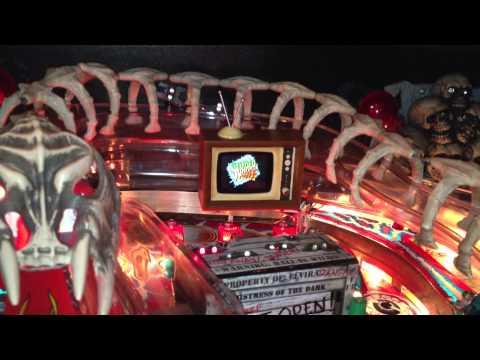 Elvira's Scared Stiff Painball Machine TV Mod